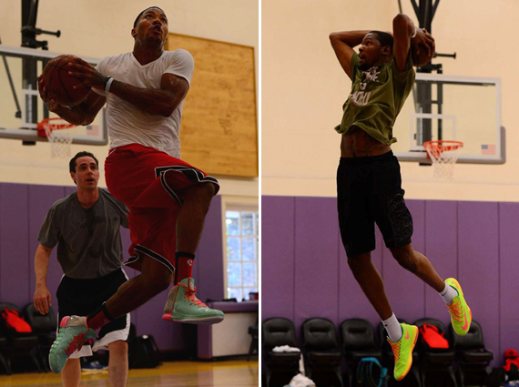 derrick-rose-practices-in-adidas-rose-4-with-kevin-durant-1