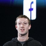 Mark Zuckerberg during a Facebook press event to introduce 'Home' a Facebook app suite that integrates with Android in Menlo Park in this file photo